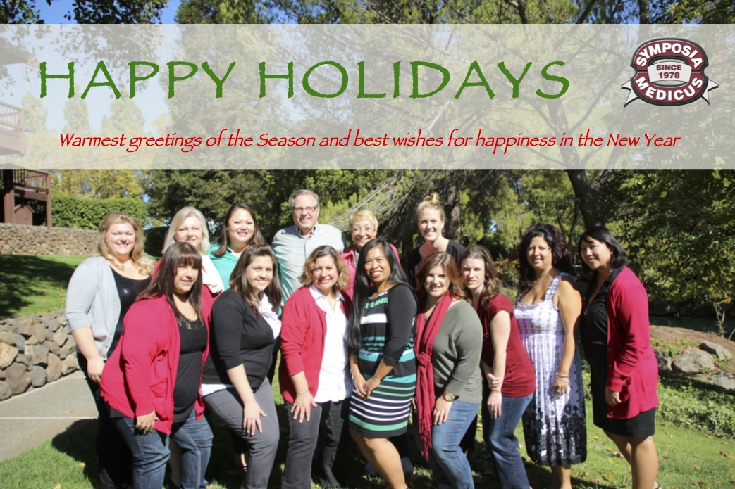 Happy Holidays 2013 from Symposia Medicus